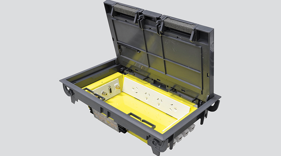 Large floor box power data USB Condor OE Elsafe