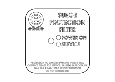 Surge Reduction Filter, power distribution rail OE Elsafe