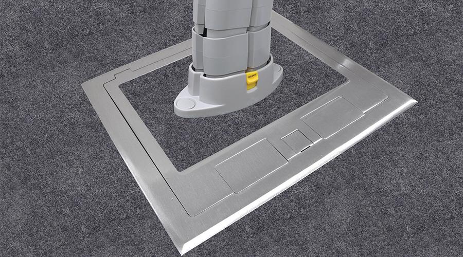 Shallow floor box stainless steel power Harrier OE Elsafe