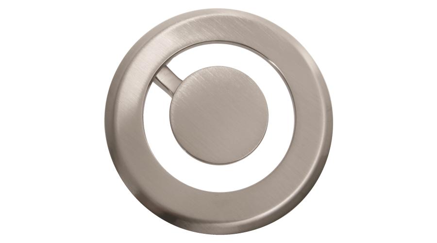 Orbit duct metal grommet 80mm round chrome OE Elsafe