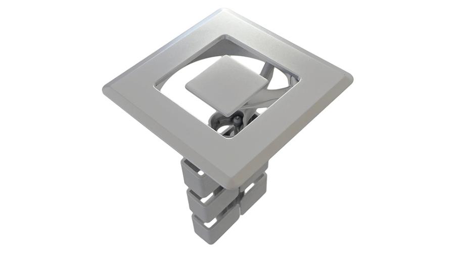 Orbit duct metal grommet 80mm square OE Elsafe